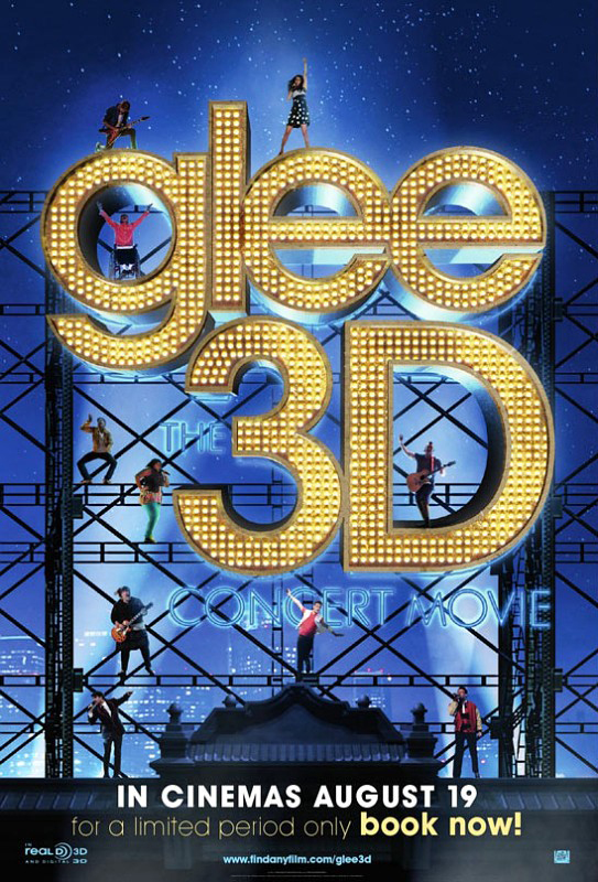 First Poster for 'Glee: The 3D Concert Movie' Has Arrived!