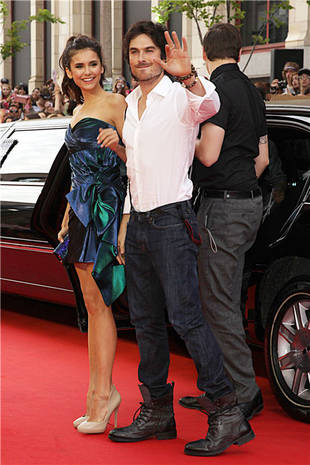 Busted! Ian Somerhalder and Nina Dobrev Spotted Kissing at the MuchMusic Awards