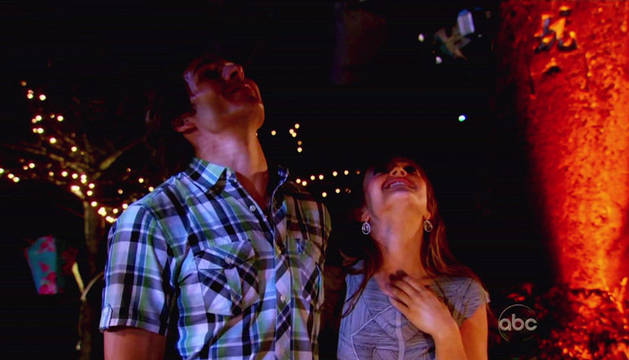 Chris Harrison's Blog: Constantine and Ashley Almost Passed Out From Smoke Inhalation