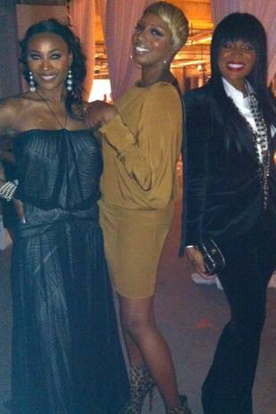 NeNe Leakes, Cynthia Bailey and Marlo Hampton Attend Charity Fashion Show