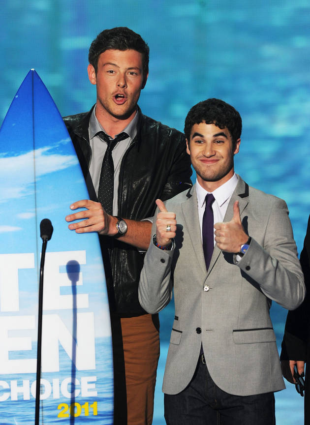 Cory Monteith, Darren Criss and Glee Win at the 2011 Teen Choice Awards
