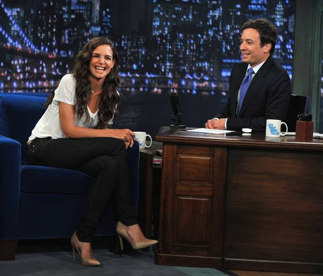 Katie Holmes Dances With Herself on National Television