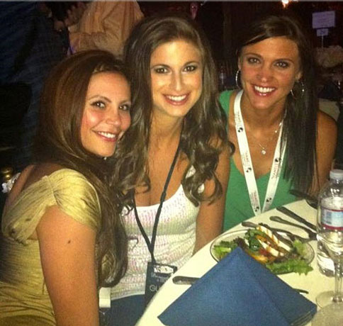 Pic of the Day! Gia Allemand, Jackie Gordon, and Alli Travis are Charitable Cuties