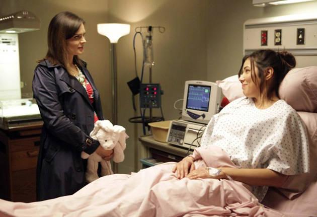 Parenthood Alert!  Michaela Conlin Talks Brennan, Angela, and Babies