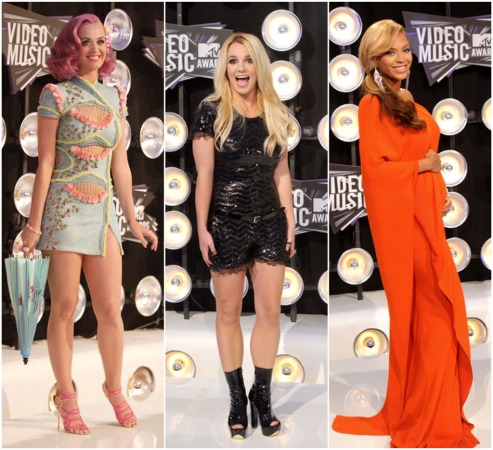 Who Was Your Favorite Diva At The VMAs — Gaga, Britney, Katy, Nicki, Beyonce or Adele?
