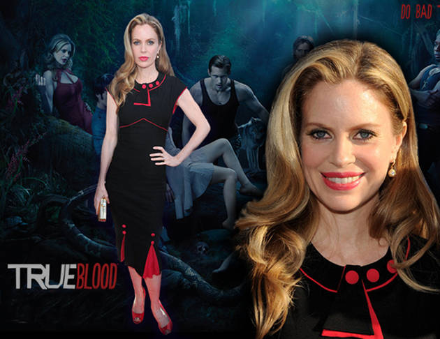Kristin Bauer Auctions Off Her True Blood Premiere Dress for a Good Cause!