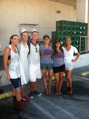 Volunteering is Sexy! The Bachelor Pad Gang Gives Back