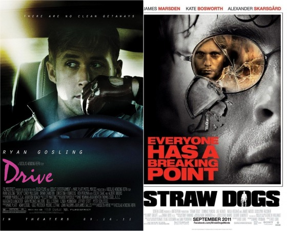Sexy or Not? Drive, I Don't Know How She Does It, Straw Dogs: Wetpaint Entertainment's Weekend Movie Guide, 9/16