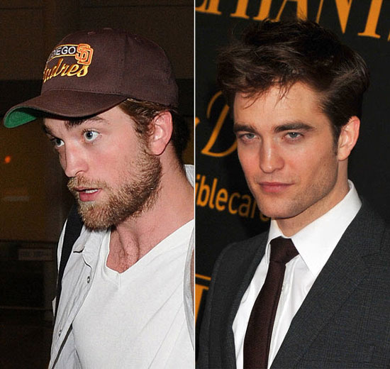 Robert Pattinson: Beard or No Beard? That Is the Question