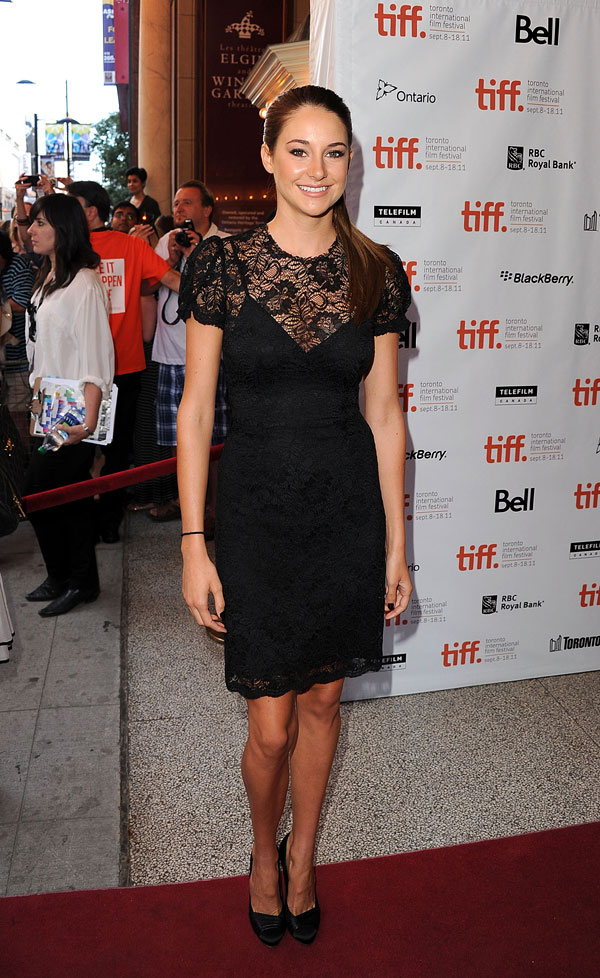 Fall Fashion Trend Alert! Wear Lace Like Shailene Woodley