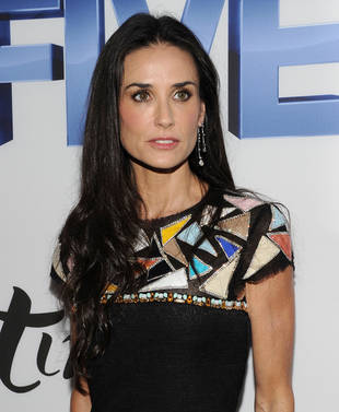 "Source: Demi Moore Is ""Completely in Crisis"""