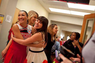 No Glee Spin-Off — But Lea Michele is Back for Season 4!