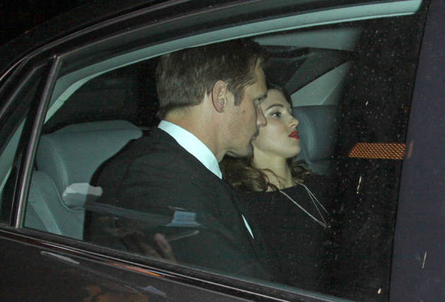 Spotted: Alexander Skarsgard Arriving at Chateau Marmont With Mystery Girl!