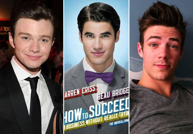 Darren Criss' Broadway Debut! Chris Colfer, Grant Gustin, and More Tweet Their Support