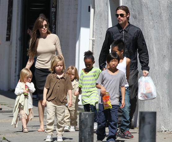 The Jolie-Pitt Kids Aren't Allowed to Google Brangelina