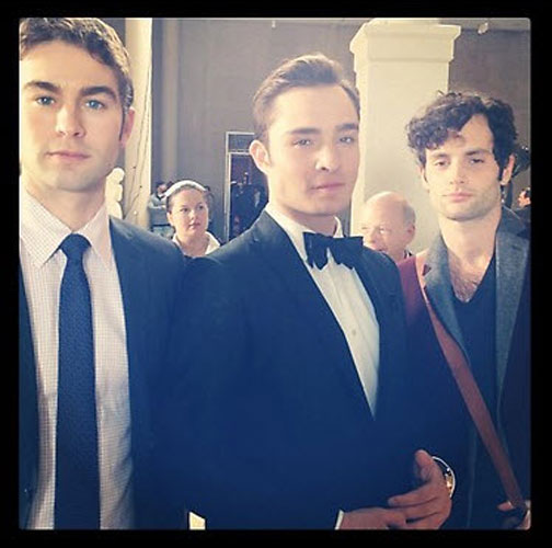 Gossip Girl Season 6 Speculation: Why Is Chuck Wearing a Black Tux? (PHOTO)
