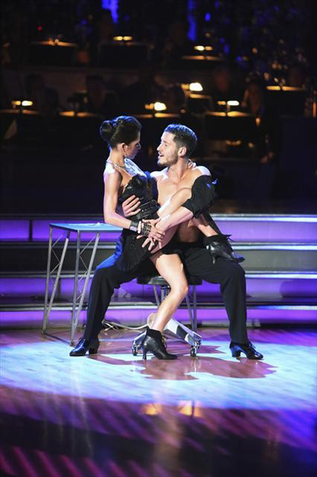 Did Val Chmerkovskiy and Kelly Monaco Plan That Passionate DWTS Kiss (And Slap)?