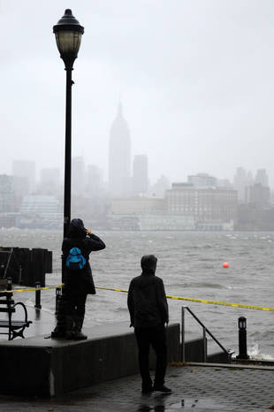 TV Tapings Cancelled by Hurricane Sandy