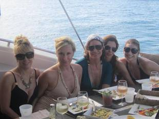 Ramona Shares a Private RHONY Photo From St. Barts – But Who's Missing? (PHOTO)