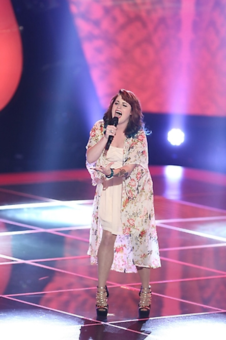 Watch Caitlin Michele and Diego Val Battle in The Voice Knockout Rounds on Oct. 29, 2012 (VIDEO)