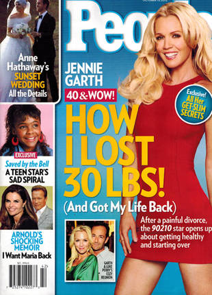Jennie Garth Drops 30 Pounds! Check Out Her Rockin' Bod and Weight Loss Tips (PHOTO)