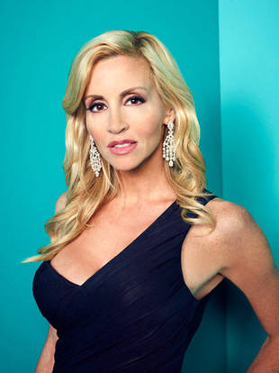 Real Housewives' Camille Grammer Dishes on Boyfriend Dimitri: How She Tricked Him Into Appearing on Camera — Exclusive