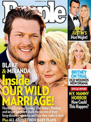 Blake Shelton and Miranda Lambert Share Their Secrets to Marriage Success in New People Magazine Cover