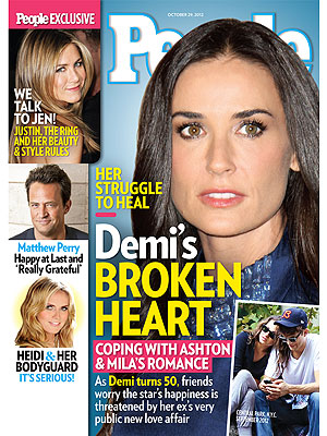Demi Moore: Jealous, Humiliated, Too Thin, Or Just Fine After Divorce?