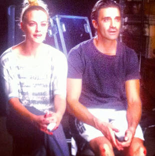 Dancing With the Stars All-Stars: Why Are Gilles Marini's Knees All Bloody?! (PHOTO)