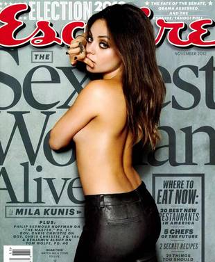 "Esquire's ""Sexiest Woman Alive"" Dishes on the Hollywood Liars and D-Bags She Knows"