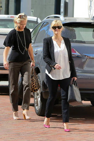 Reese Witherspoon's Post-Baby Black and White Chic: How to Steal Her Look