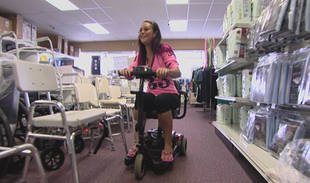 Why Are Snooki and JWOWW Shopping for Wheelchairs? (VIDEO)
