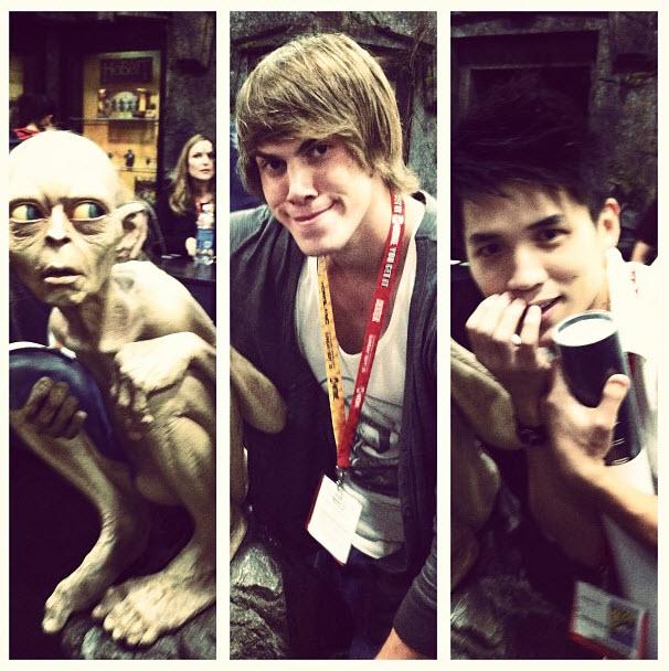 Blake Jenner vs. Gollum vs. Abraham Lim: Who Has the Best Facial Expression? (PHOTO)