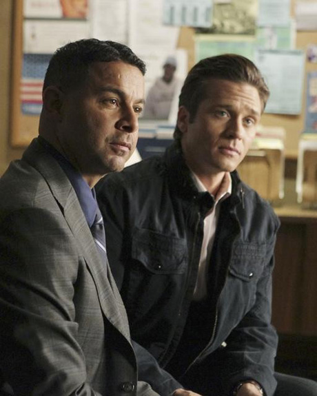 Is the Esposito/Ryan Hatchet Really Buried on Castle?