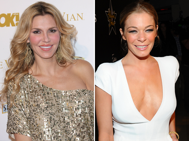 """Real Housewives' Brandi Glanville Says Her Relationship With LeAnn Rimes Is """"Not Amazing"""""""