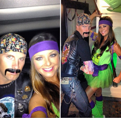 Holly and Blake Julian Dressed For Halloween – Cute Photo of the Day
