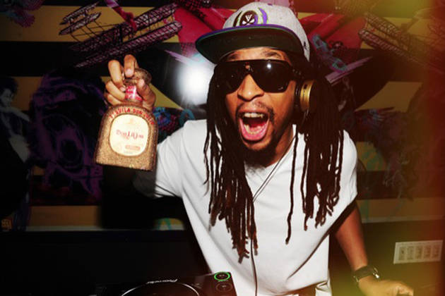 Lil Jon Celebrates Tenjune's Anniversary With Rhinestone-Encrusted Tequila Bottle (PHOTO)