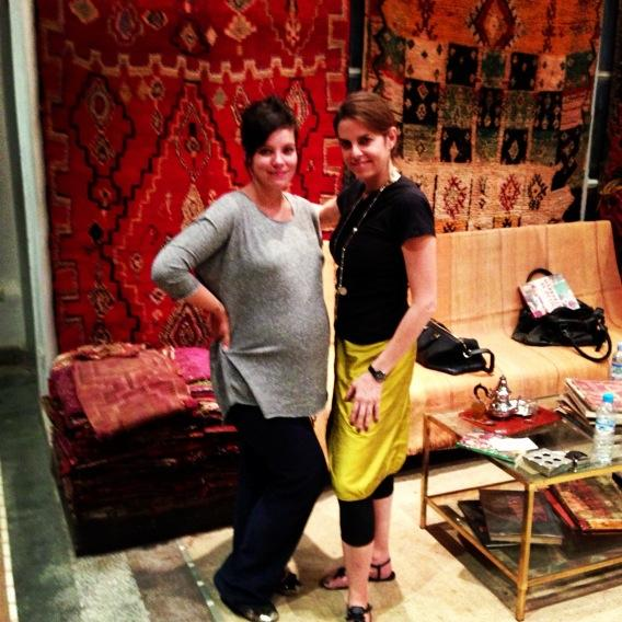 Lily Allen Shows Off Baby Bump While Shopping in Morocco (PHOTO)