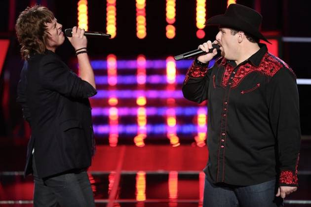 "Watch Casey Muessigmann and Terry McDermott Sing Kansas's ""Carry on Wayward Son"" on The Voice Battle Rounds, October 8, 2012 (VIDEO)"