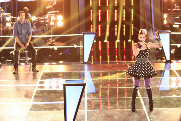 Watch Collin McLoughlin and Michaela Paige in The Voice Knockout Rounds on Oct. 30, 2012 (VIDEO)
