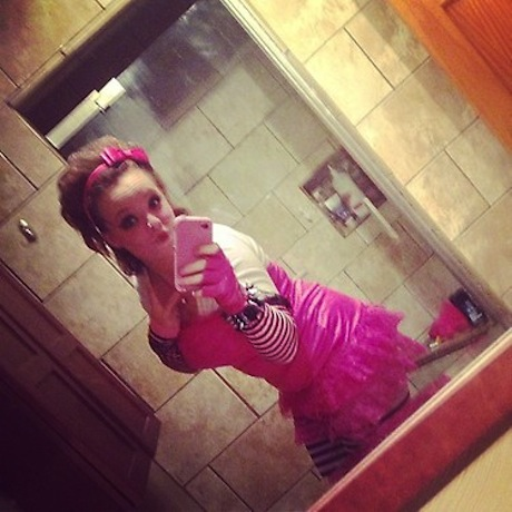 Catelynn Lowell Goes Punk Rock Goth For Halloween: Love It or Leave It? (PHOTO)