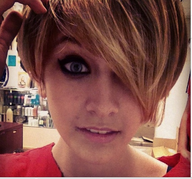 Did Miley Cyrus Inspire Paris Jackson to Chop Off All Her Hair?