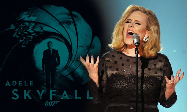 "Adele's James Bond Theme Leaked! Listen to ""Skyfall"" Now (UPDATE)"
