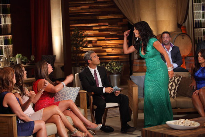 Rosie Pierri Loses It and More WTF Moments From The Real Housewives of New Jersey Season 4 Reunion, Part 1