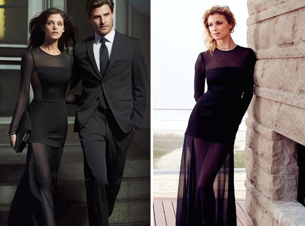 Revenge's Emily VanCamp vs. Twilight's Ashley Greene: Who Wore This DKNY Sheer Gown Best? (PHOTOS)