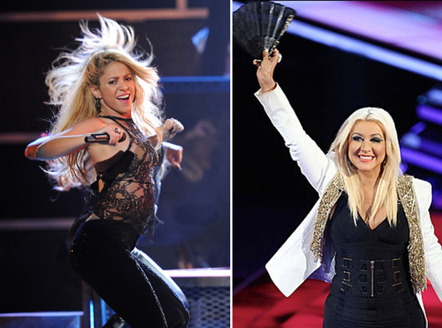 "Christina Aguilera Talks Shakira on The Voice: She'll Bring ""Latin Flair"""