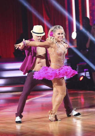 DWTS All-Stars: Was Len Too Harsh With Shawn, Derek, and Mark's Week 8 Trio Samba?