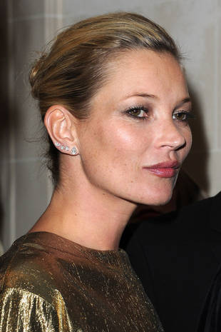 Kate Moss Without Makeup! Model Goes Bare-Faced at Winter Wonderland (PHOTO)