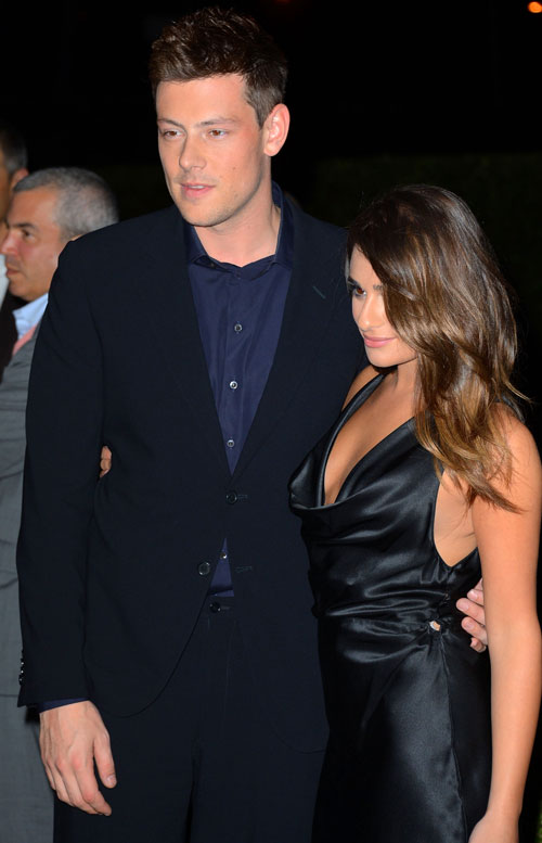 Does Lea Michele Live With Boyfriend Cory Monteith?