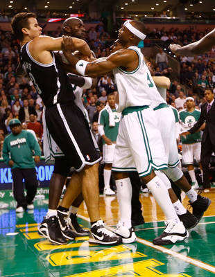 Kris Humphries Booted From Basketball Game For Fighting